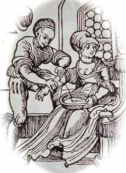 picture of bloodletting procedure