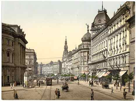 picture of Budapest between 1890 to 1900